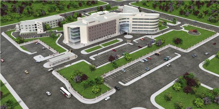 M  Turhan KAYASÜ Architects-Consultants, 200 Bed Zakho Hospital